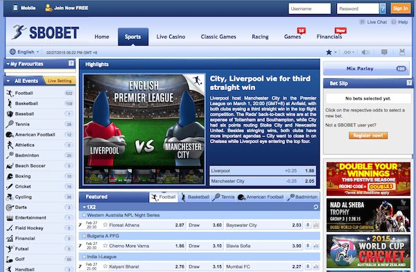 Generate profits From Soccer Sbobet Betting